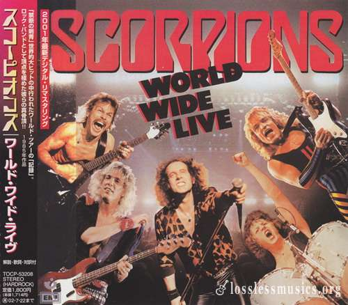 Scorpions - World Wide Live (Japan Edition) (2001)