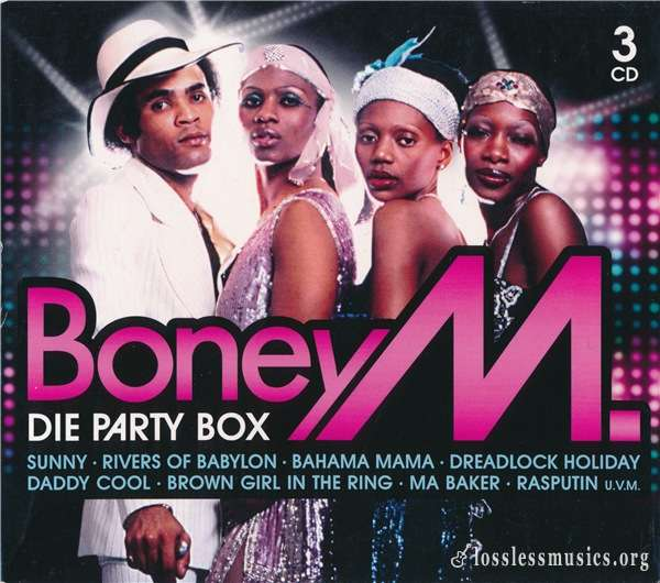 Boney M - Die Party Box (3CD Set) (2010)